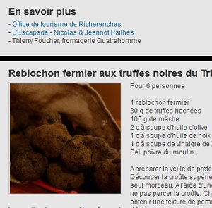 Truffes video
